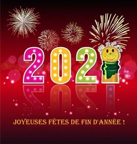 je vous souhaite de bonnes fêtes de fin d'année :)