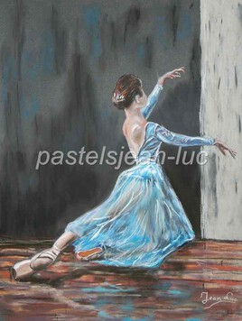 La petite danseuse en bleu