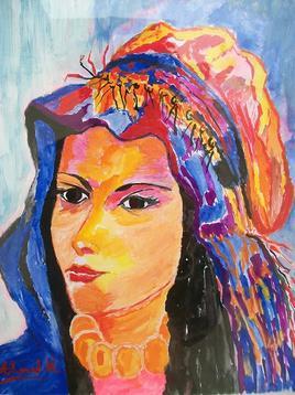 Femme Amazigh Haut  Atlas