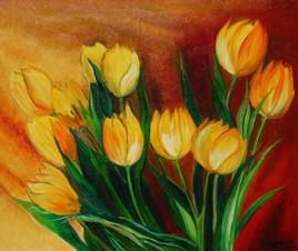 Tulipes jaune