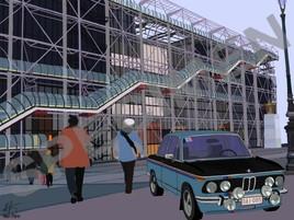 82- Centre Beaubourg- BMW