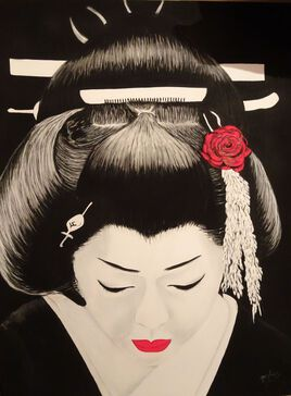 Black geisha