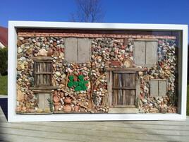 La façade d'une ancienne maison!