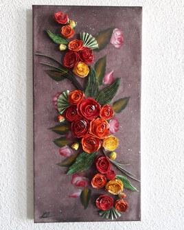 Arc de roses