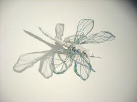 libellule en fil de fer