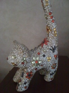 Le chat en paillettes