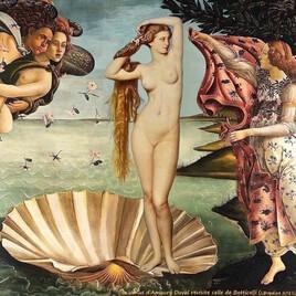 la Vénus d'Amaury Duval revisite la Vénus de Botticelli :)