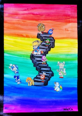 Somewhere over the Rainbow Brite