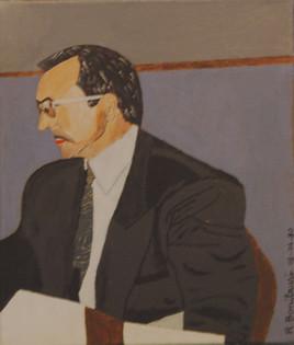Autoportrait de René Bonilauri