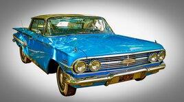Chevrolet bleus