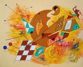 Clin d'Oeil contemprain à Kandinsky