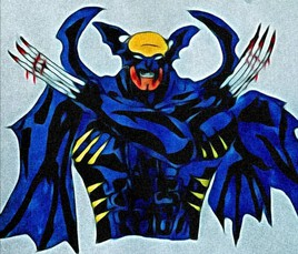 Batman x wolverine DC x marvel