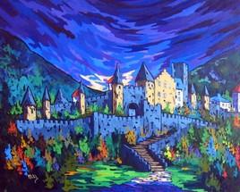 Gigantesque Carcassonne