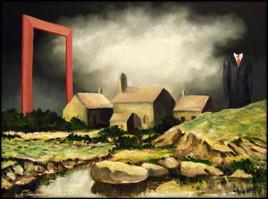 Peinture cadre hors cadre