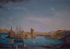 Port de Marseille au 18 ième siècle