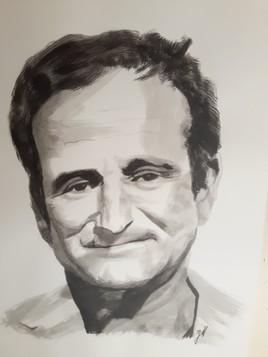 Robin Williams (encre de chine)
