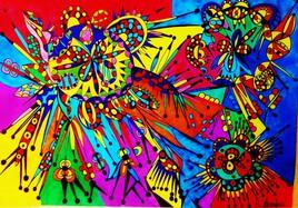 Au jardin des couleurs!