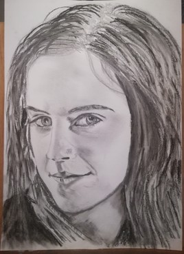 Emma Watson . Hermione Granger, univers Harry Potter.