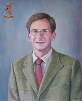 Portrait de gentleman en Tweed