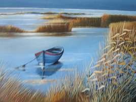 barque en Sologne