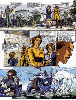 Amazones Century, page 8, tome 4, 2001.