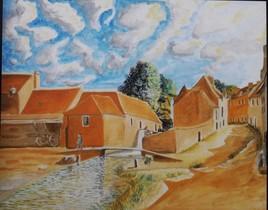Un hameau à la campagne .....