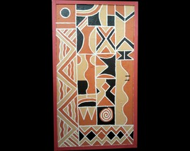 long way 02| Twagirumukiza | sculpture | bas relief