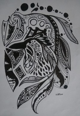 Corbeau blanc