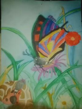 Papillon quand j'avais 9 ans