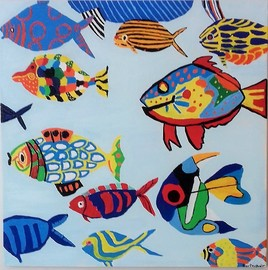""""""" aquarium imaginaire"""
