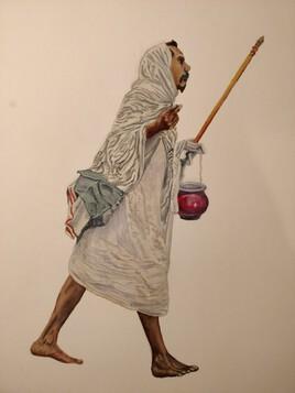 moine Jaïn d'Udaipur