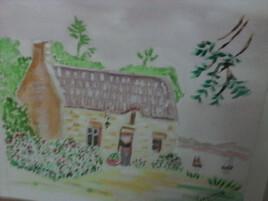 Maison de ma grand-mère en Bretagne