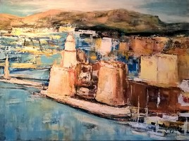 Marseille...l'entrée du port.
