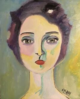 """""""Portrait de femme"""" depuis Van Dongen"""