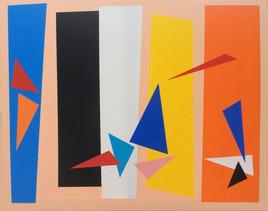 Composition de couleurs aux oiseaux II