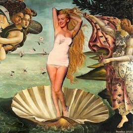 la naissance de Vénus de Botticelli revisitée.. :)