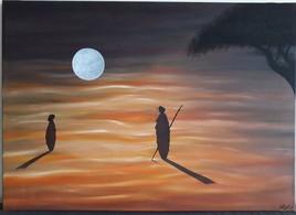 Pleine Lune sur Dunes