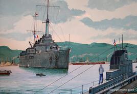Marine Nationale en 1914.