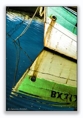 Miroir vert