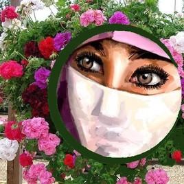 une fleur au milieu des fleurs