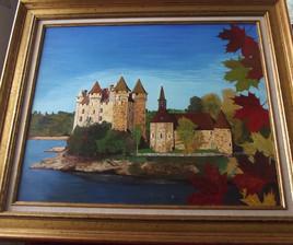 Château de Val à Bord les Orgues