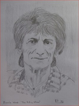 "Ronnie Wood ""The Rolling stones"""