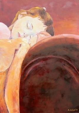 Clémence endormie