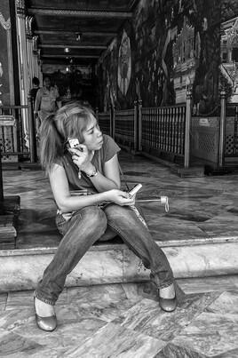 Portraits d'Asie 9 (Bangkok - Thaïlande) tirage dibond® 40 x 60 cm