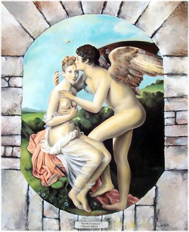 Psyché et l'Amour (reproduction)
