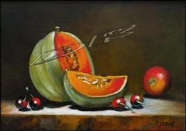 Melon et fruits