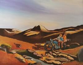 Tintin chez Hooper d'apres Xavier Marabout