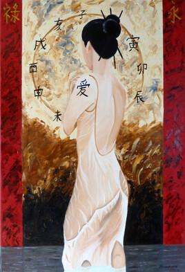 Demoiselle chinoise