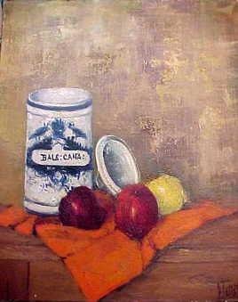 """Paul Jallat """"les pommes"""""""