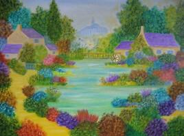 L'étang de Saint Jacques